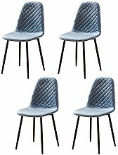 Huisen Furniture Blue Kitchen Dining Room Chairs
