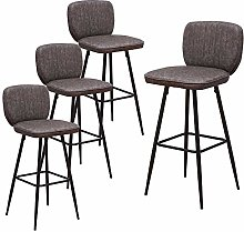 Huisen Furniture Faux Leather Bar Stool for
