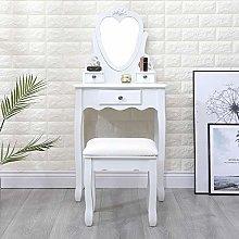 Huisen Furniture Modern White Dressing Table Set
