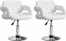 Huisen Furniture Pair Kitchen Bar Stool Chair with