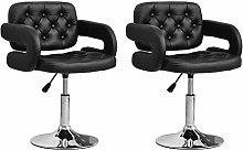 Huisen Furniture Set of 2 Kitchen Bar Stool Chair