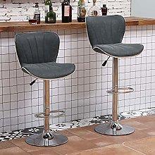 Huisen Furniture Set of 2 Kitchen Bar Stools
