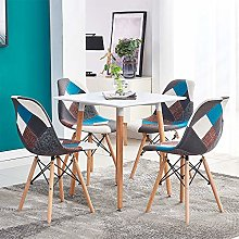 Huisen Furniture Small Dining Table and Patchwork