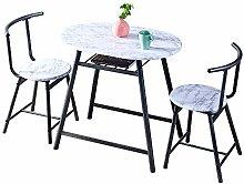 Huisen Furniture White Small 3 Piece Dinette
