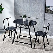 Huisenuk Dining Table and Chairs Set, Space Saving