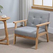 Huisenuk Living Room Small Sofa Armchair Single