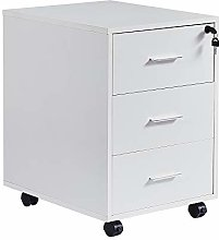 Huisenuk Office File Cabinet with Lock and Storage