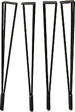 hujio Aoligei Hairpin Table Legs,Metal Hairpin