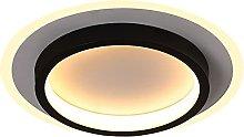 HUJUNM Aisle Light Ultra-Thin Circular Corridor