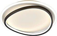 HUJUNM Light Luxury LED Flush Mount Ceiling Light