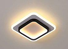 HUJUNM Modern Simple Square Aisle Porch Light