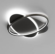 HUJUNM Simple and Modern Ultra-Thin Round Ceiling