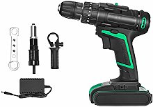 HUKOER 25V Cordless Drill, Cordless Electric Drill