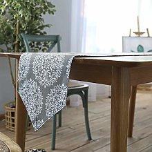 HULDORO American Tablecloth Cotton Linen Table