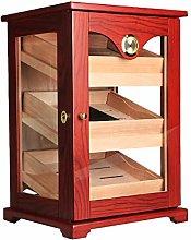 Humidors 3 Layers Storage Cigar Humidor, Portable