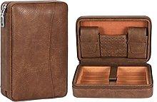 Humidors Barware Leather Portable cigar bag for