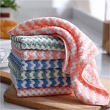 HUMINGG Cleaning cloth 15 Double Sided Coral