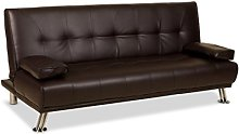Humza Amani Venice Faux Leather Sofa Suite Sette