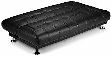 Humza Amani Venice Sofa Bed in Faux Leather Sofa