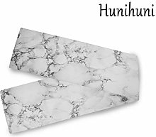 Hunihuni Abstract Marble Texture Table Runner