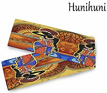 Hunihuni African Woman Table Runner Table Cloth