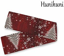 Hunihuni Christmas Tree Table Runner Table Scarves