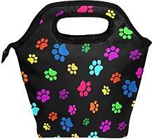 hunihuni Colorful Animal Dog Cat Paw Print