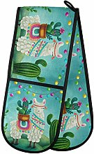 Hunihuni Double Oven Mitts Tropical Animal Cute