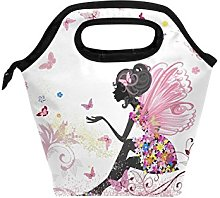 hunihuni Flower Fairy Girl Pink Floral Butterfly