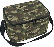 Hunihuni Forest Camoflage Portable Insulated Lunch
