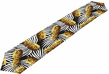 Hunihuni Gold Pineapple Table Runner Table Cloth