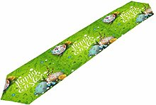Hunihuni Happy Easter Table Runner Table Cloth