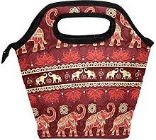 hunihuni India Tribal Elephant Pattern Insulated