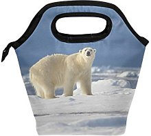 hunihuni Polar Bear Insulated Thermal Lunch Cooler