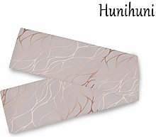 Hunihuni Rose Gold Marble Table Runner Table