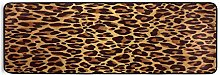 Hunihuni Runner Rug, Animal Leopard Print Non Slip