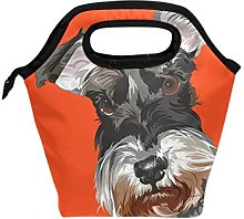 hunihuni Schnauzer Insulated Thermal Lunch Cooler