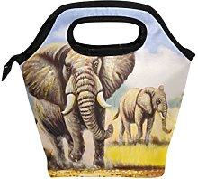 hunihuni Watercolor Elephant Insulated Thermal