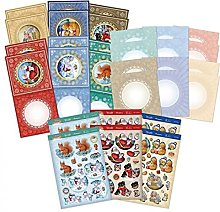 Hunkydory - Festive Friends Decoupage Card Kit - FRIENDS101