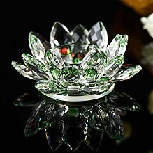 hunpta Lotus Crystal 7 Colors Crystal Glass Lotus