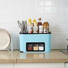 Hunpta@ Seasoning Rack Spice Pot Box Storage