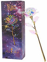 Hunpta@ Valentines Gifts 24k Gold Rose, Glowing