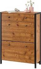 Hunter 16 Pair Shoe Storage Cabinet Williston Forge