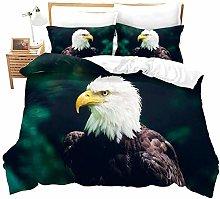 Huooseso® Green background animal bald eagle