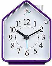 HUOQILIN Luminous Watches Mute Small Alarm Clock