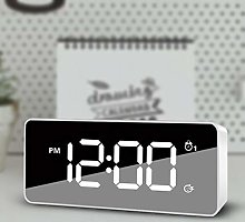 HUOQILIN Rechargeable Smart Alarm Clock and Memory