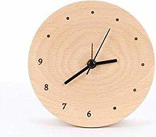 HUOQILIN Silent Alarm Clock Bedside Clock Creative