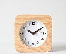 HUOQILIN Simple Alarm Clock Bedside Clock Watch