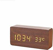 HUOQILIN Small Alarm Clock Electronic Mute