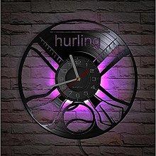 Hurling Inspired Vinyl Record Wall Clock Irish